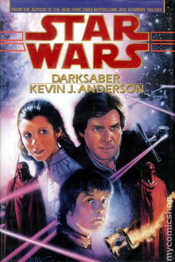 Image result for Darksaber by Kevin Anderson